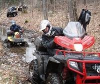 ATVs outdoors